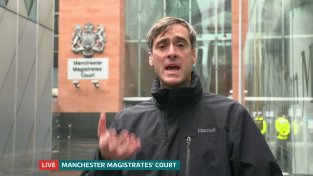 manchester arena attack inquiry: tributes paid to olivia campbell-hardy, jane tweddle and alison howe; england: manchester: manchester magistrate's... - manchester arena stock videos & royalty-free footage