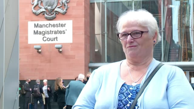 manchester arena attack inquiry: tributes paid to teenage couple killed in attack; england: manchester: manchester magistrate's court: ext june tron... - manchester arena stock videos & royalty-free footage