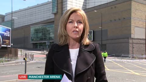 manchester arena attack: itv news special 13.00 - 13.55; england: london: gir / manchester: int / ext split screen studio nina hossain / mary... - mary nightingale stock videos & royalty-free footage