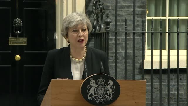 itv news special 1300 1355 theresa may statement sot i have just chaired a meeting of the government's emergency committee cobra where we discussed... - itv news at one stock videos & royalty-free footage