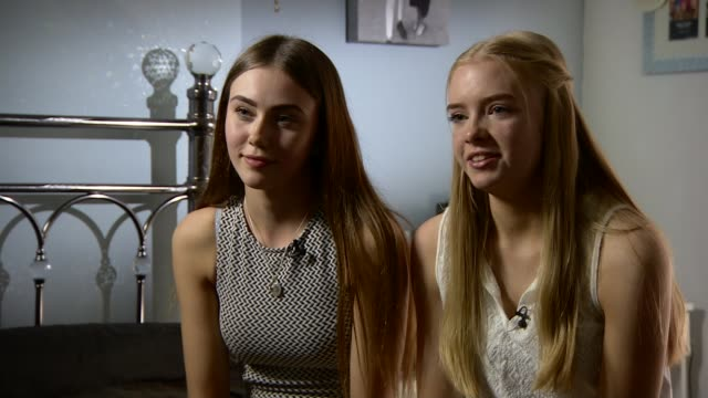 Two friends say special bond helped them cope with the loss of their mothers ENGLAND Manchester INT Darcie Howe interview as with India Lees SOT