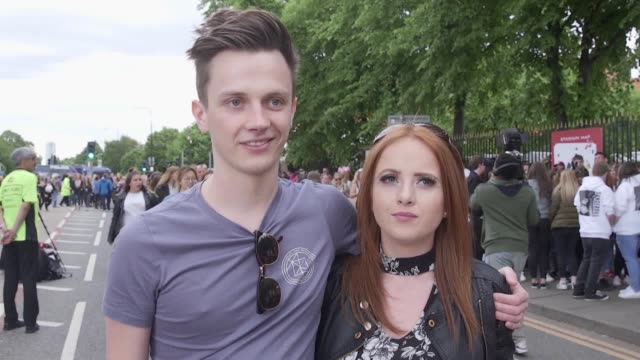 Manchester benefit concert Interviews with Reece Horne and Danielle Bennison They talk about learning of the attack at the Arena and what the mood...