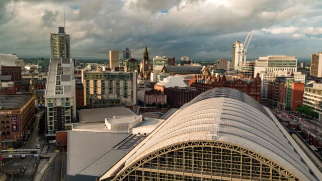 Manchester Central Drone footage