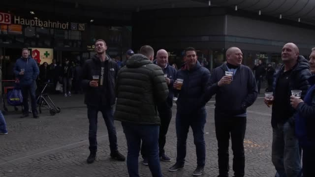 Manchester City fans travel to Germany to watch their side play Schalke in the Champions League The teams face each other in the first leg of the...