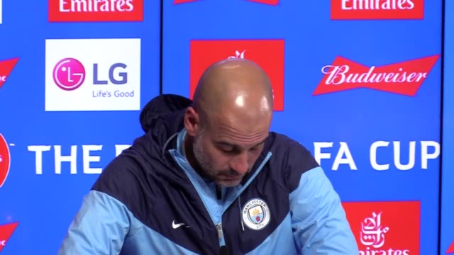 Manchester City manager Pep Guardiola's press conference ahead of his side's FA Cup semifinal against Brighton