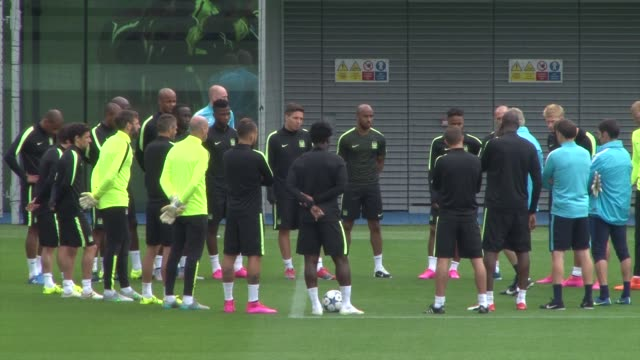 manchester city training session england manchester etihad campus ext varios of manchester city football training session watched by manchester city... - education building stock videos & royalty-free footage