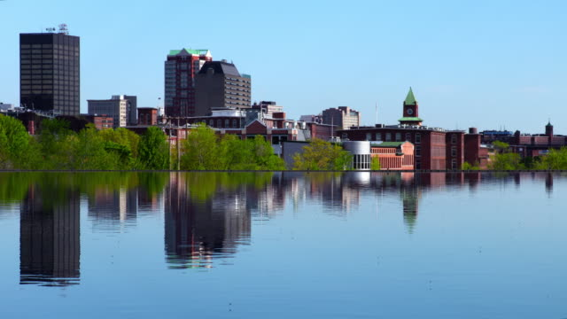 manchester, new hampshire - new hampshire stock-videos und b-roll-filmmaterial