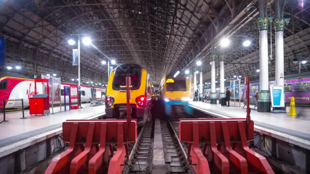 Manchester Piccadilly Train Station - Timelapse