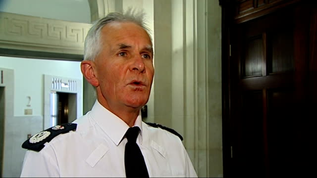 manchester police chief admits that 6 out of 10 crimes not investigated fahy interview england london westminster int sir peter fahy interview on the... - police chief stock videos and b-roll footage