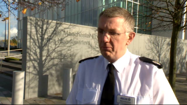 Manchester police seize 3D printed gun parts in raid Greater Manchester EXT Asst Chief Constable Steve Heywood interview SOT quite surprised to find...