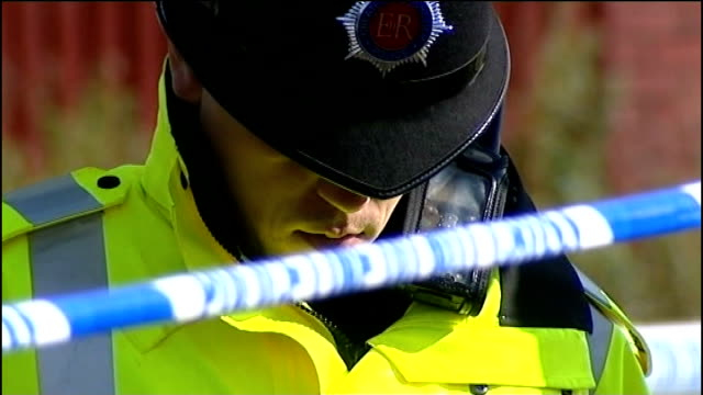 police investigation paula cohen interview sot police officer and forensic officer observing minute's silence police officer with head bowed forensic... - comforting colleague stock videos & royalty-free footage