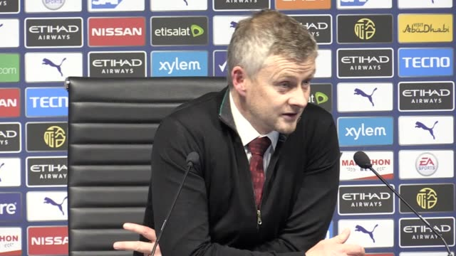 manchester united manager ole gunnar solskjaer called for stern action and education in the wake of unacceptable alleged racist abuse aimed at his... - exhilaration stock videos & royalty-free footage