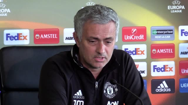 Manchester United manager previews his side's Europa League final against Ajax on May 24