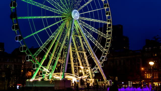 manchester wheel - manchester england stock videos & royalty-free footage