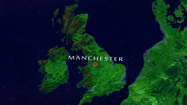 manchester zoom in - manchester england stock videos & royalty-free footage