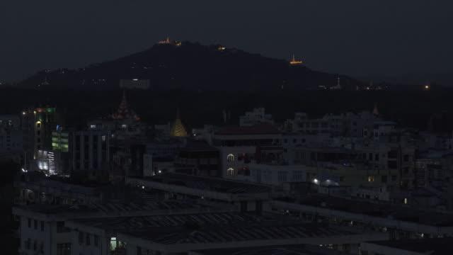 W/S Mandalay night cityscape