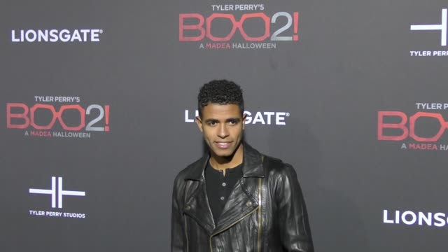 Mandela Van Peebles at Lionsgate Presents The Los Angeles Premiere of Tyler Perry's 'Boo 2 A Madea Halloween' at LA LIVE on October 16 2017 in Los...