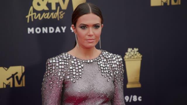 Mandy Moore at 2018 MTV Movie TV Awards Arrivals at Barker Hangar on June 16 2018 in Santa Monica California