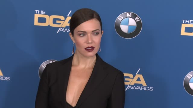mandy moore at 69th annual directors guild of america awards in los angeles ca - directors guild of america awards stock videos & royalty-free footage