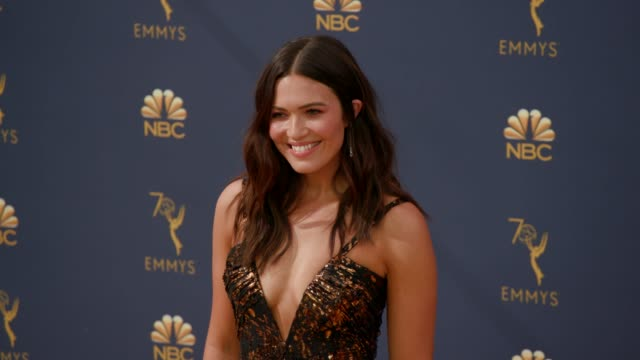 Mandy Moore at the 70th Emmy Awards Arrivals at Microsoft Theater on September 17 2018 in Los Angeles California