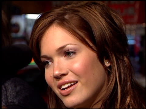 Mandy Moore at the 'A Walk To Remember' Premiere at Grauman's Chinese Theatre in Hollywood California on January 23 2002