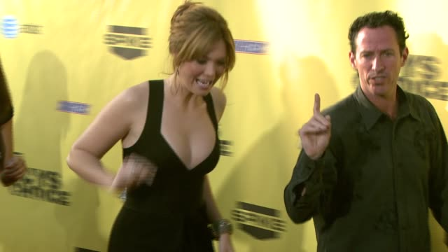 mandy moore at the spike tv's guys' choice awards at radford studios in los angeles california on june 10 2007 - spike guys choice awards video stock e b–roll
