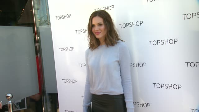 Mandy Moore at Topshop Celebrates the Holidays at The Grove with a Special Performance by Natalia Kills on 11/02/13 in Los Angeles CA