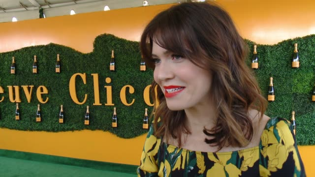 interview mandy moore at will rogers state historic park on october 15 2016 in pacific palisades california - pacific palisades stock videos & royalty-free footage