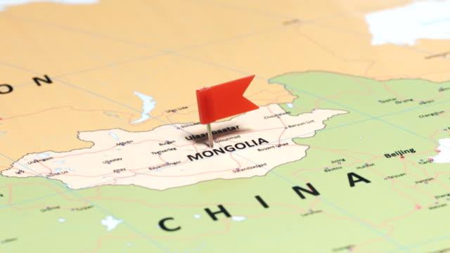 vidéos et rushes de mangolia avec broche - mongolie indépendante