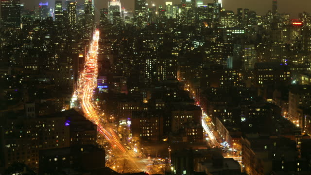 マンハッタンの街並みの風景