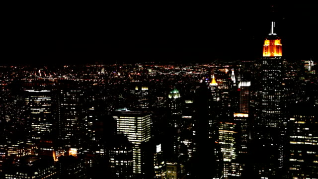 manhattan at night - 24 hrs stock videos and b-roll footage