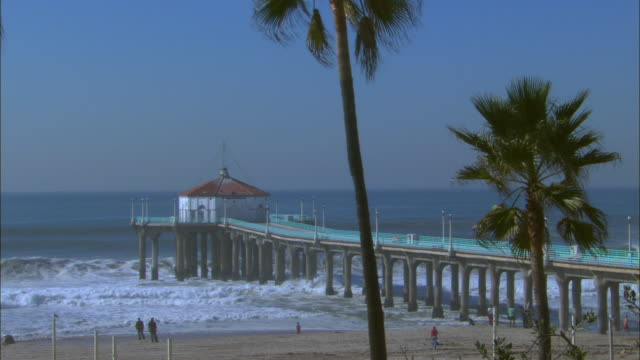 WS, Manhattan Beach Pier, Los Angeles County, California, USA