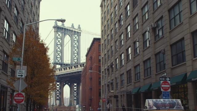 Manhattan Bridge as seen from Dumbo Brooklyn