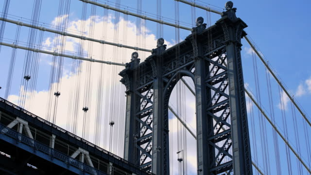 Manhattan Bridge - establishing shot