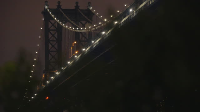 Manhattan Bridge - night