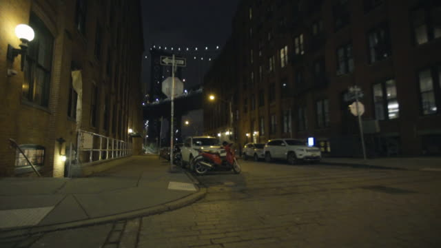 manhattan bridge - dolly shot stock videos & royalty-free footage