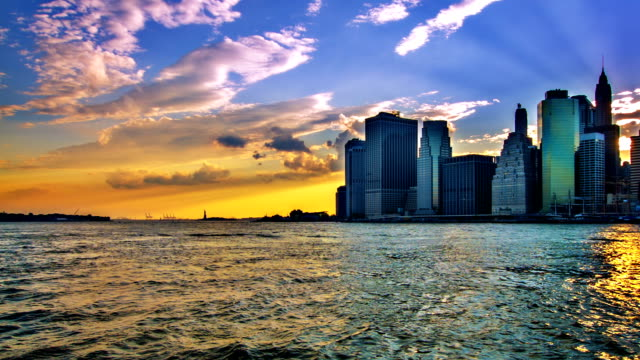 manhattan downtown - the americas stock videos & royalty-free footage