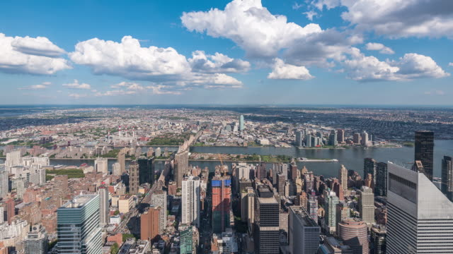 NYC - Manhattan East Time-lapse 20x Speed