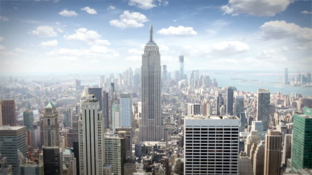 manhattan island, new york - manhattan new york city stock videos & royalty-free footage