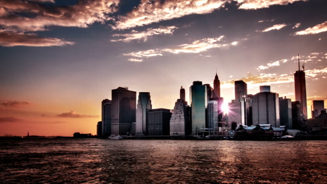 manhattan, new york city. usa. - world trade centre manhattan stock videos and b-roll footage