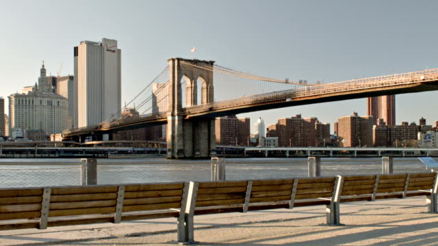マンハッタン、ニューヨーク市。 - ニューヨーク州 ブルックリン点の映像素材/bロール