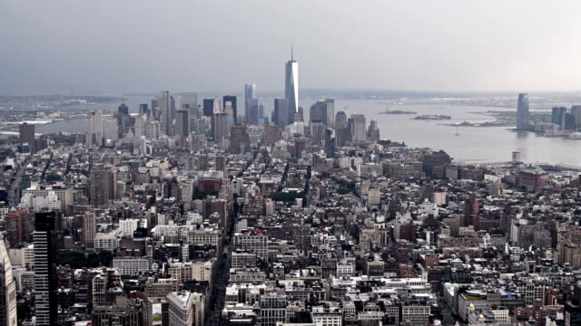 manhattan, new york, stati uniti - new york stato video stock e b–roll