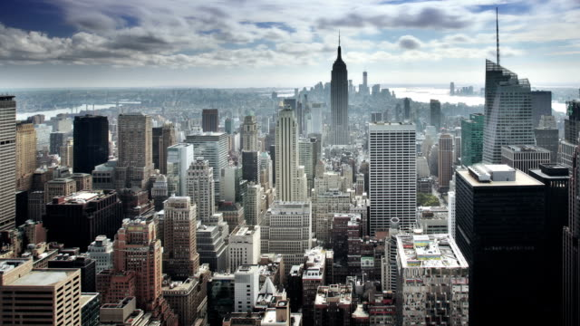 manhattan new york - tall high stock videos & royalty-free footage