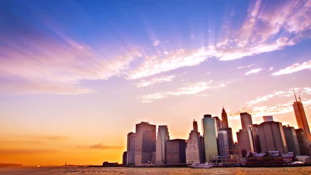 manhattan skyline - metropolitan museum of art new york city stock videos & royalty-free footage