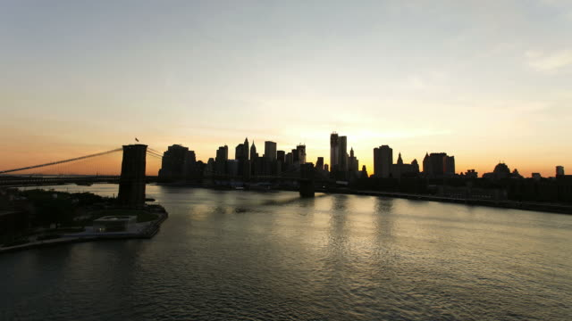 manhattan timelapse new york. hd video - east river stock videos & royalty-free footage