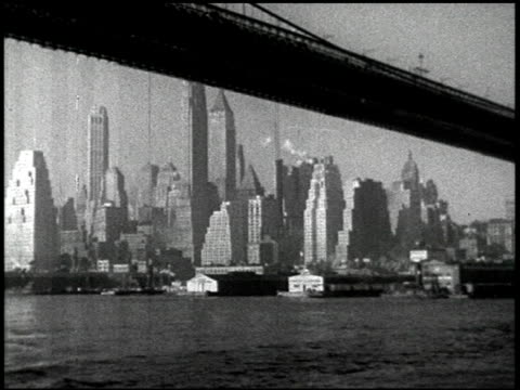 stockvideo's en b-roll-footage met manhattan waterfront - 5 of 10 - prelinger archief