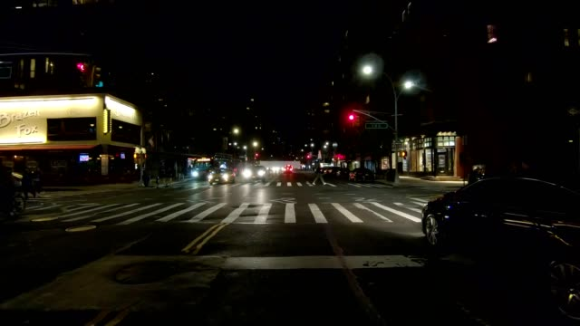 nyc manhattan x synced series front view driving studio process plate - part of a series stock videos & royalty-free footage