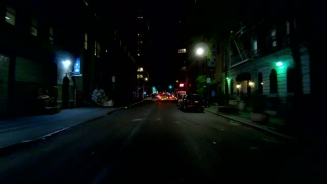 nyc manhattan xi synced series front view driving studio process plate - part of a series stock videos & royalty-free footage