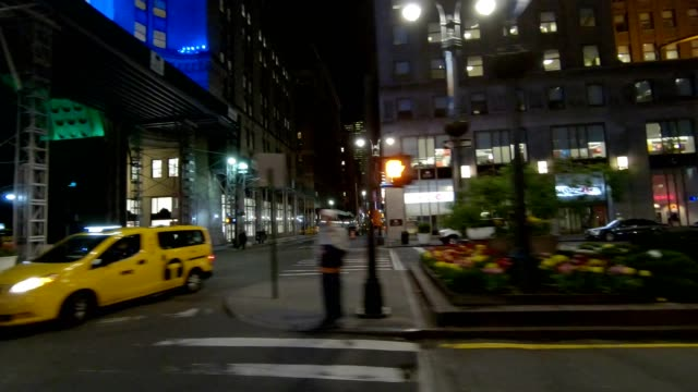 nyc manhattan xvi synced series left side driving studio process plate - grand central station manhattan stock videos & royalty-free footage