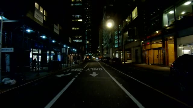 nyc manhattan xviii synced series rear view driving studio process plate - rear view stock videos & royalty-free footage